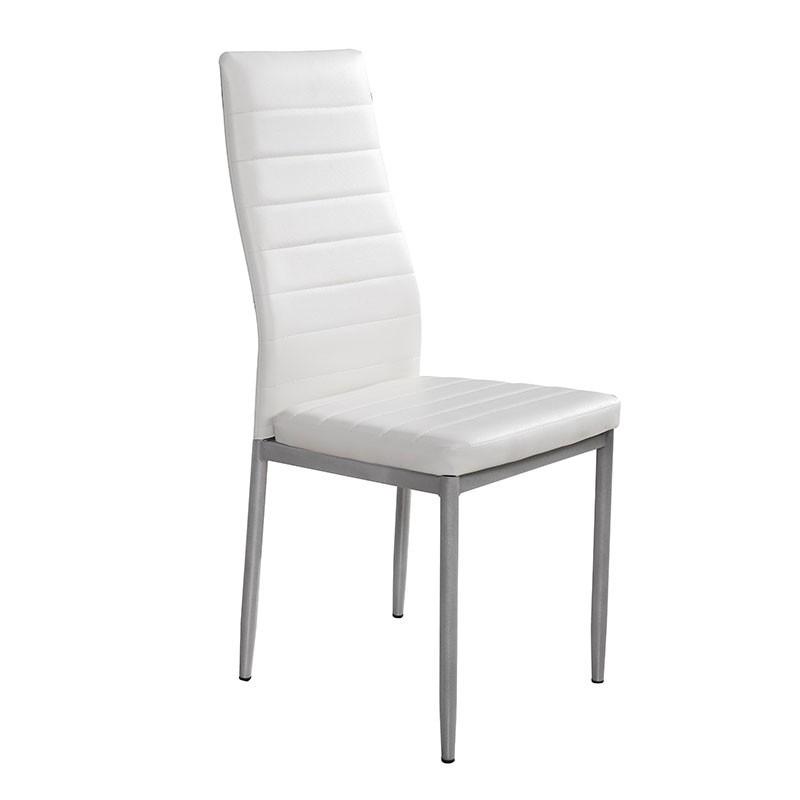 silla de cocina o comedor con asiento de polipiel 79300 01