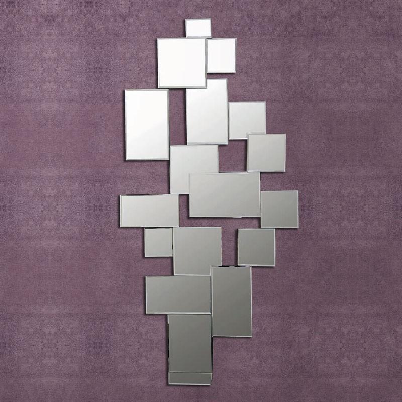 Espejo vertical de dise o 140x70 cm para sal n recibidor for Espejos de diseno para salon