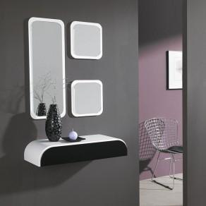 Conjuntos recibidores para hogar y espejos tienda online for Espejo grande recibidor
