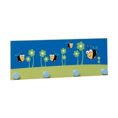 Perchero de Pared Infantil 4 Perchas 90161