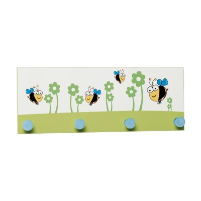 Perchero de Pared Infantil 4 Perchas 90162