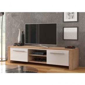 Mueble Bajo TV Cambrian/Blanco 2 Puertas 67171