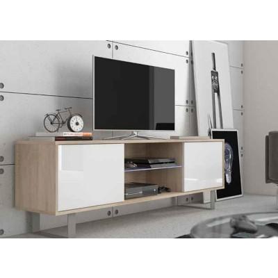 Mueble Aparador Bajo Cambrian/Blanco 2 Puertas 67190