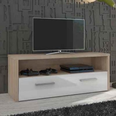Mueble Bajo TV Cambrian/Blanco 1 Puerta 67231