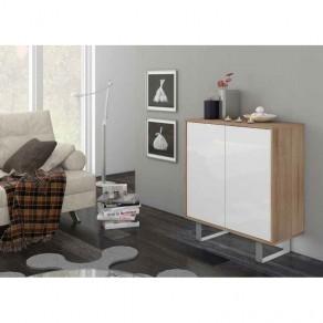 Mueble Aparador Cambrian/Blanco 2 Puertas 1 Estante 67201