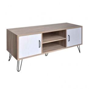Mueble Bajo TV Cambrian/Blanco 2 Puertas 74450