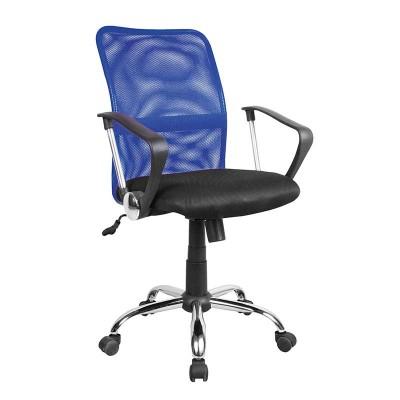 Silla de Oficina Azul y Negra Office 75630