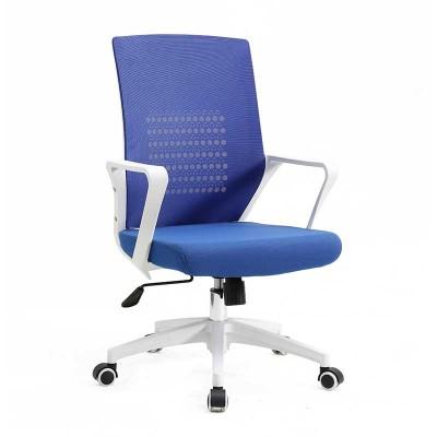 Silla de Oficina Azul y Blanca Office 75505