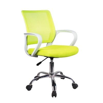 Silla de Oficina Verde y Blanco Office 75124