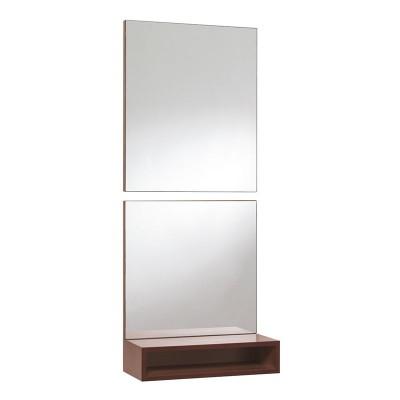 Conjunto Recibidor Consola + 2 Espejos Cuadrados