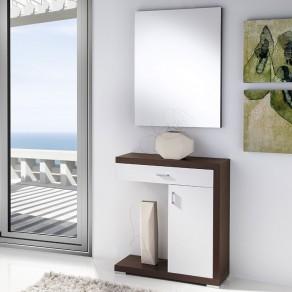 Conjunto Recibidor Espejo + Consola Completa