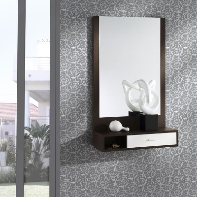 Conjunto Recibidor Consola con Cajón + Espejo