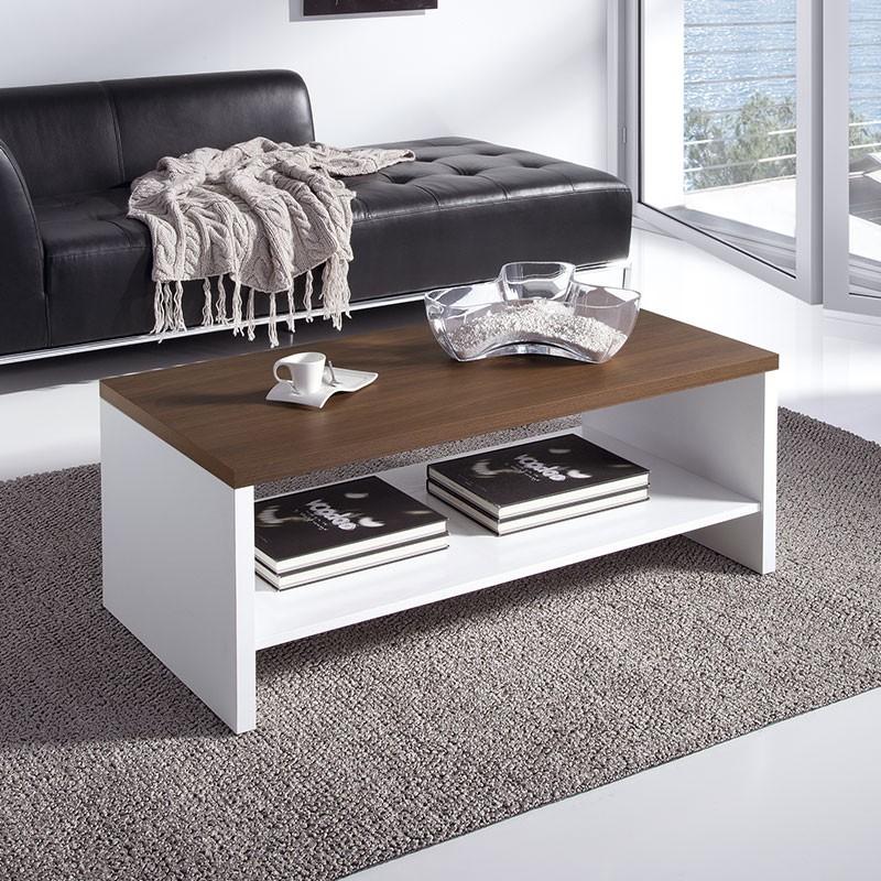 Mesa elevable de centro de madera laminada para sal n - Mesa de salon elevable ...